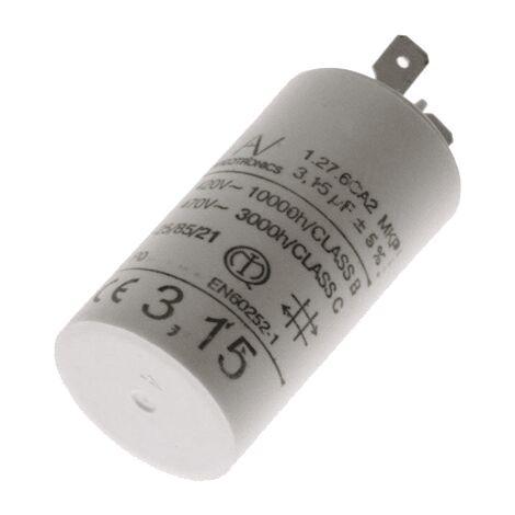 Condensateur 3.15 Mf 450 V C00242732 Pour HOTTE