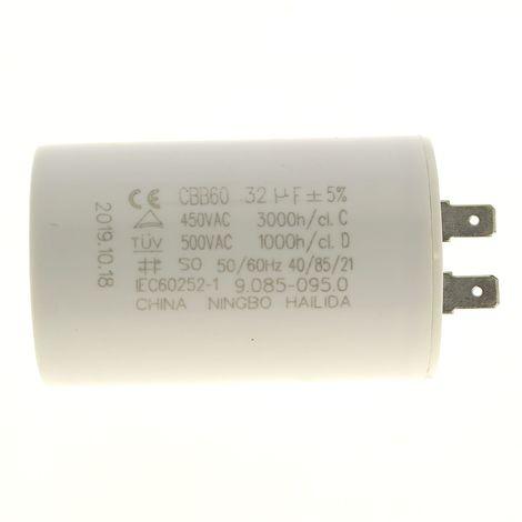 """main image of """"Condensateur 32µf 450v pour Nettoyeur haute pression Karcher"""""""