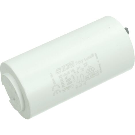 CONDENSATEUR 40 MF 450 V POUR NETTOYEUR HAUTE-PRESSION KARCHER - 66612980