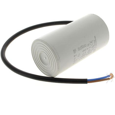 Condensateur 45µf 450v a fils pour Nettoyeur haute pression Mac allister