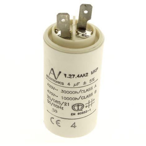 Condensateur 4µf pour Hotte Ariston, Hotte Scholtes, Hotte Hotpoint