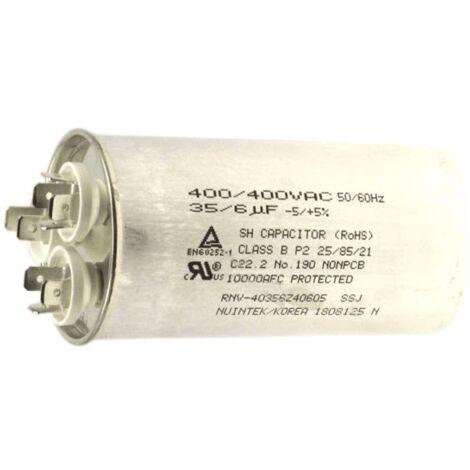 Condensateur 6+30 Mf 400 V 6120AR2194D Pour CLIMATISEUR