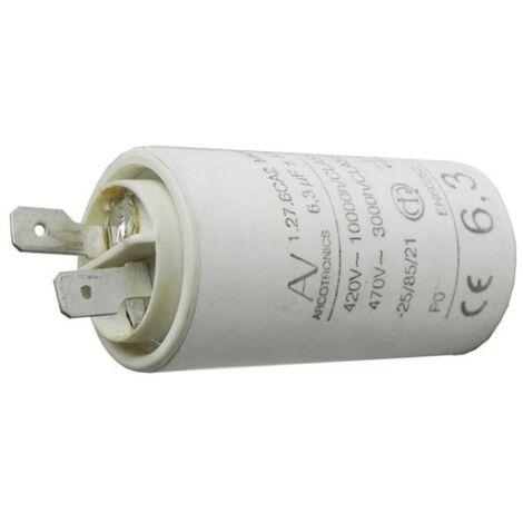 Condensateur 6.3 Mf 470v 1.27.6ca2 Mkp 72X8290 Pour HOTTE