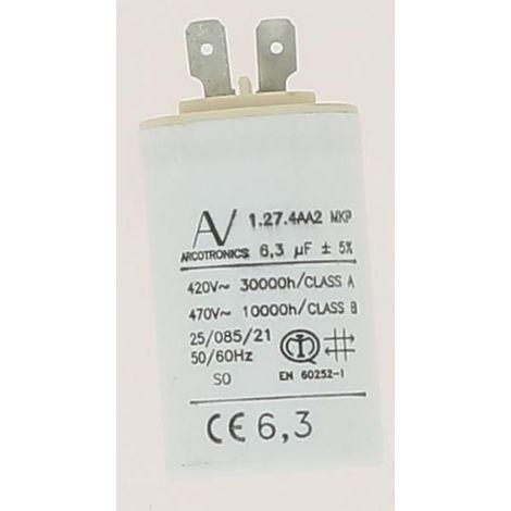 Condensateur 6.3uF 470VAC Réf 87387029230