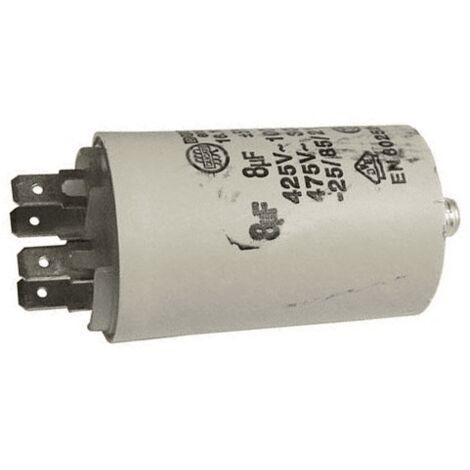 Condensateur 8 Mf 450v AS0030666 Pour SECHE LINGE
