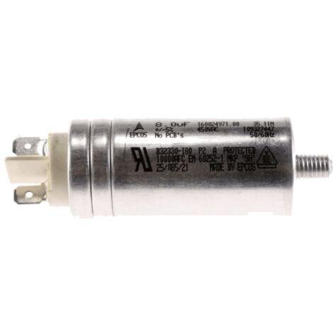 Condensateur 8 Uf (iskra) C00194453 Pour SECHE LINGE