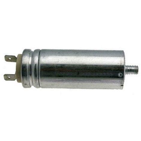 Condensateur 8MF 450V (AS0030666) Sèche-linge 60920 BRANDT, FAGOR, VEDETTE, CURTISS, THOMSON, FAURE, FAR, LADEN, SELECLINE, WHIRLPOOL, RADIOLA, ARTHUR MARTIN ELECTROLUX, SANGIORGIO, ELECTROLUX, BELLAVITA, PROLINE, BLUESKY, FUNIX, HORN, LISTO, AEG, FRANGER