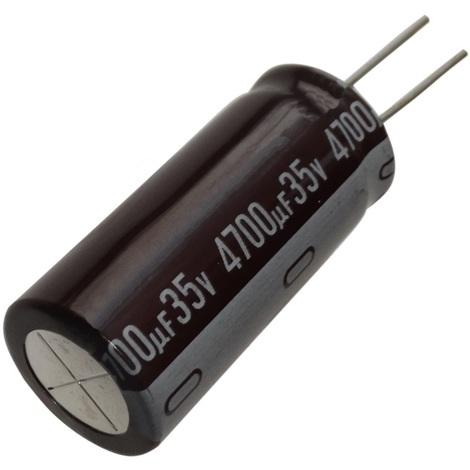Aerzetix 2x Condensateur /électrolytique chimique 330/µF /± 20/% 200V THT 105/°C 2000h /Ø18x40mm radial