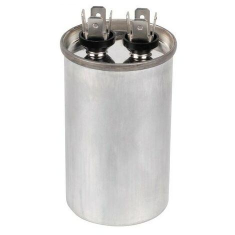 Condensateur climatisation pompe à chaleur 20 MF CBB65