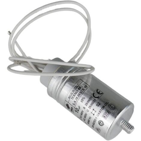 Condensateur de démarrage 10 µF à fil - BFT
