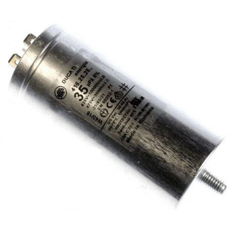 Condensateur De Demarrage 35 Mf-475v 416252529 Pour LAVE LINGE