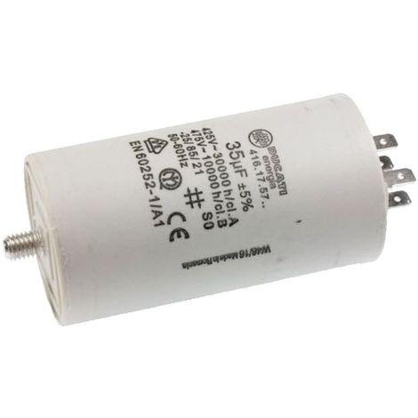 Condensateur De Demarrage 35µf 416175764 Pour LAVE LINGE
