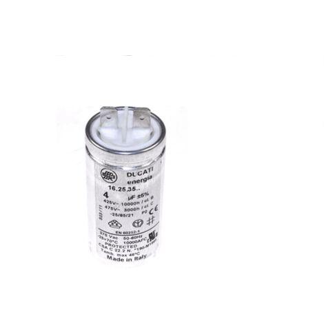 Condensateur De Demarrage 4uf 475v 1256418011 Pour SECHE LINGE