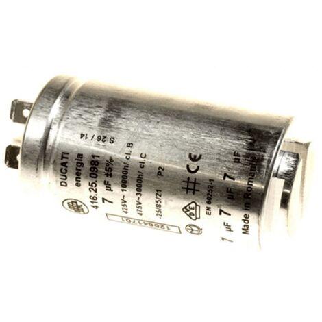 Condensateur De Demarrage 7 Uf 425v 1256417013 Pour SECHE LINGE