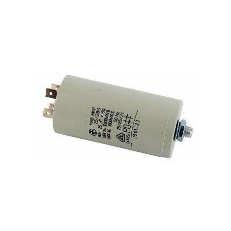 Condensateur électrique UNIVERSEL 25 UF