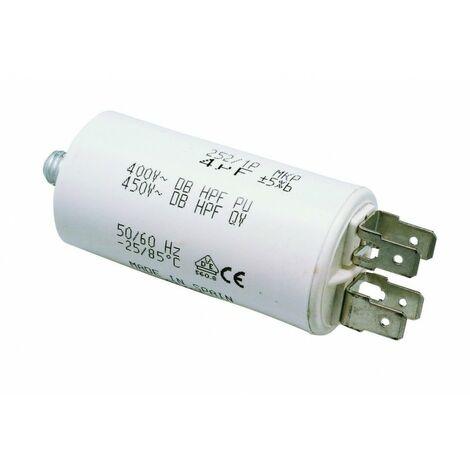 Condensateur moteur 12 mF 400 Volts