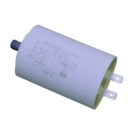 Condensateur moteur MKP 1 µF 450 V/AC Weltron MLR25PRL45103051/A 1 pc(s) à enficher 5 % (Ø x h) 30 mm x 51 mm