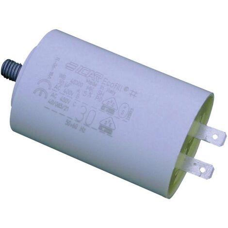 Condensateur moteur MKP 4 µF 450 V/AC Weltron WB4040/A 1 pc(s) à enficher 5 % (Ø x h) 30 mm x 51 mm