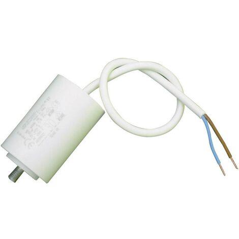 WELTRON Condensateur Moteur MKP Sortie Radiale 50 /µF 450 V//AC 5 MK 50uF 5/% 45x116 Cable 350mm /Ø x h 45 mm x 116 mm 1