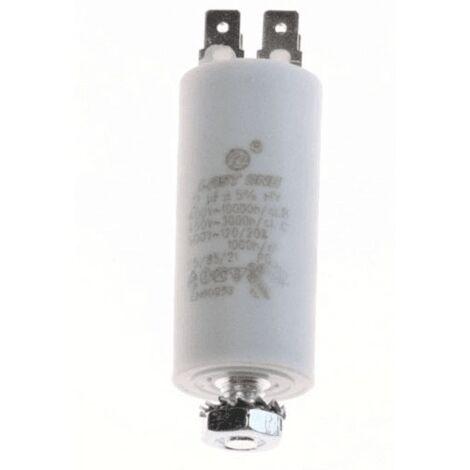 Condensateur Permanent 2µf 450v 246474 Pour LAVE LINGE