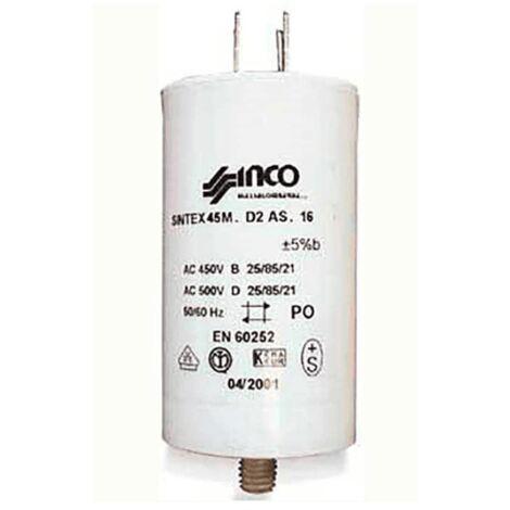 Condensateur Permanent 4 Mf 450v 1886790500 Pour LAVE VAISSELLE