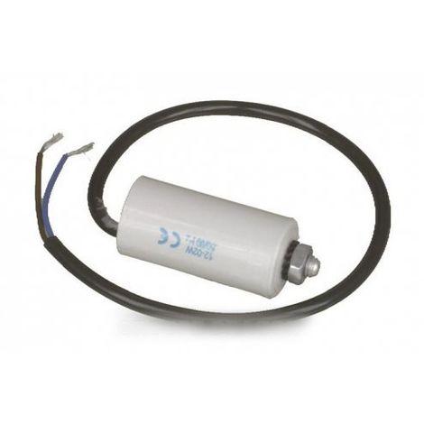 condensateur permanent 6 uf 450 v + fils pour refrigerateur ELECTROLUX