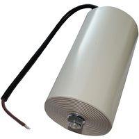 Condensateur permanent de travail pour moteur 100µF 450V précâblé Ø65x120mm ±10% 10000h