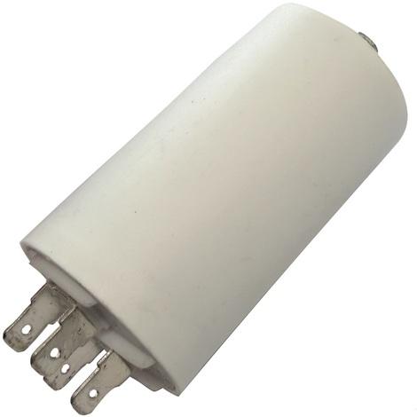Condensateur permanent de travail pour moteur 12µF 450V avec cosses Ø40x70mm ±5% 3000h