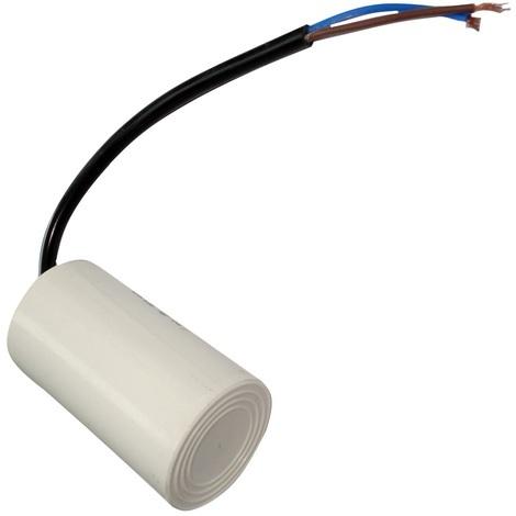 Condensateur permanent de travail pour moteur 14µF 450V précâblé Ø42x70mm ±5% 3000h
