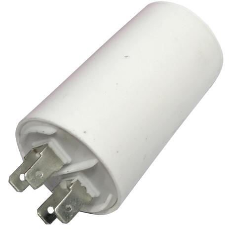 Condensateur permanent de travail pour moteur 16µF 450V avec cosses Ø40x70mm ±5% 3000h