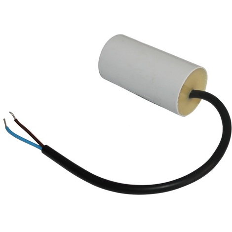 Condensateur permanent de travail pour moteur 16µF 450V précâblé