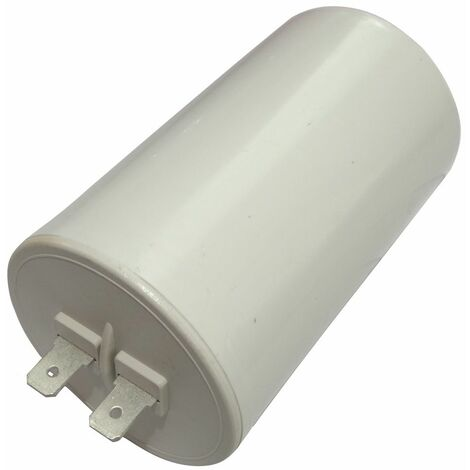 Condensateur permanent de travail pour moteur 25µF 450V avec cosses Ø50x83mm ±10% 10000h