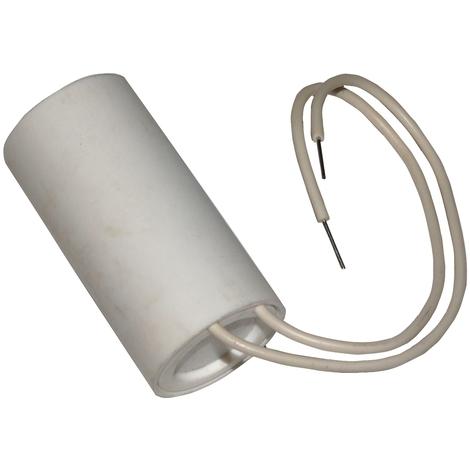 Condensateur permanent de travail pour moteur 2.5µF 475V avec fils/câbles précâblé