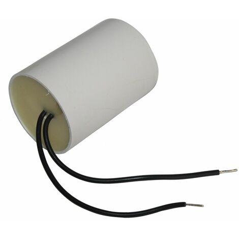 Condensateur permanent de travail pour moteur 35µF 450V avec câble 10cm précâblé