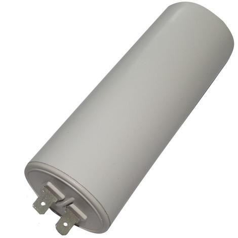 Condensateur permanent de travail pour moteur 45µF 450V avec cosses Ø45x119mm ±10% 10000h