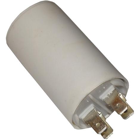 Condensateur permanent de travail pour moteur 4.5µF 450V avec cosses 6.3mm