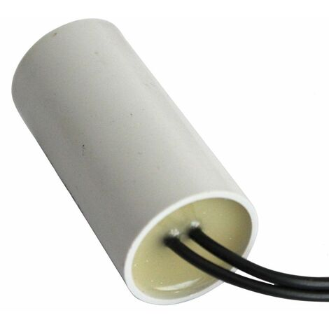 Condensateur permanent de travail pour moteur 4µF 450V précâblé