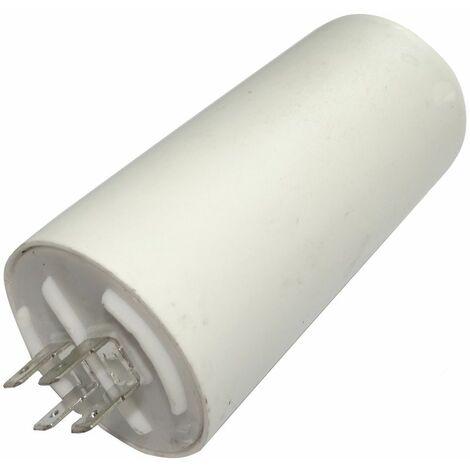 Condensateur permanent de travail pour moteur 50µF 450V avec cosses Ø50x106mm ±5% 3000h