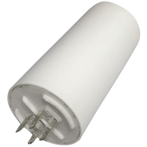 Condensateur permanent de travail pour moteur 60µF 450V avec cosses Ø50x106mm ±5% 3000h