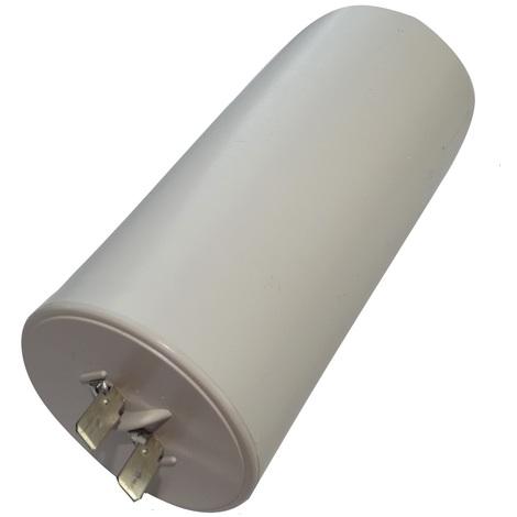 Condensateur permanent de travail pour moteur 65µF 450V précâblé Ø55x119mm ±10% 10000h