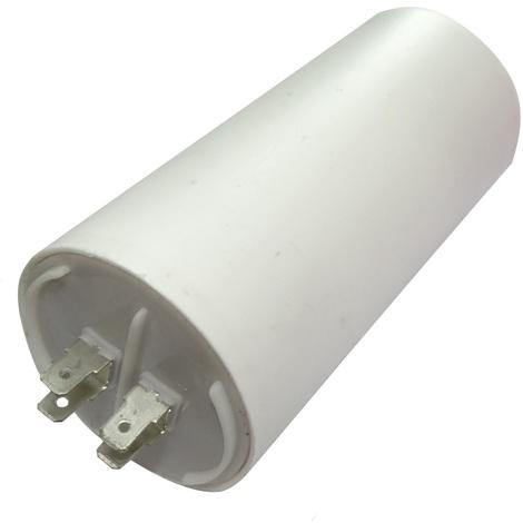 Condensateur permanent de travail pour moteur 80µF 450V avec cosses Ø60x120mm ±5% 3000h