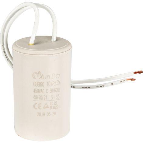 Condensateur pour pompes Fluxe - Blanc