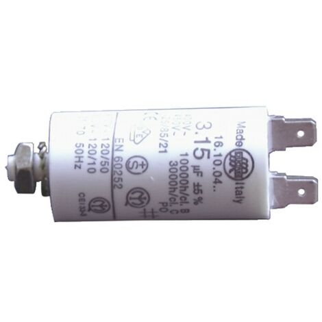 Condensateur standard permanent 10µF