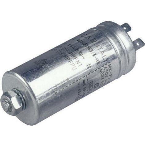 Condensateurs à film MKP 3 µF 500 V/AC Weltron 024033086891 1 pc(s) sortie radiale 5 % (Ø x h) 30 mm x 63 mm