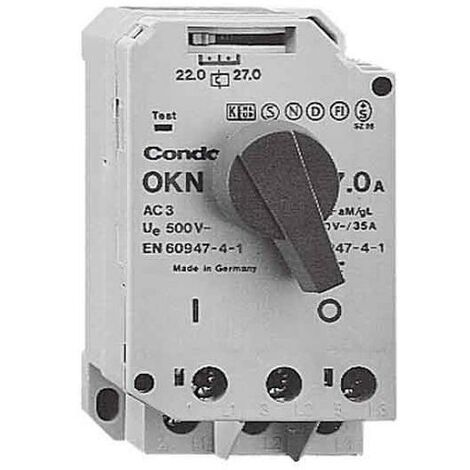 Condor Pressure Motorschutzschalter OKN-160 AA XXX XXX