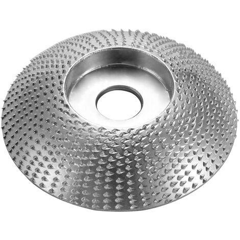 "Conducir rueda madera esquina sculpteMeule 5/8 ""dentro de acero de diametro de 3,3 pulgadas de diametro del material 45"