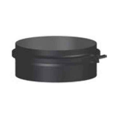 "main image of ""Conducto modular Colector de hollín corto chimenea negro deko leña Ø150"""