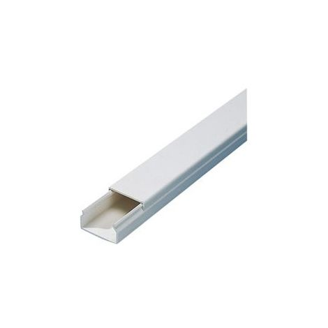 Conducto PVC 2 m,15x30 mm, blanco