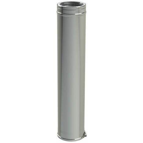 Conduit 1000 mm Duoten Inox316/I304 200 - 250 + bride, TEN, Ref 501208