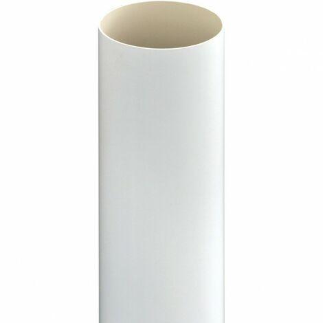 Conduit Ø 51 mm en PVC - Longueur 2.50 m - aspiration centralisée